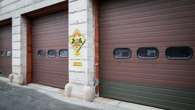 Fire Station 1 in downtown Muncie has been renovated to house a fire truck once more.