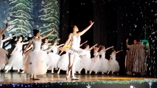 """A scene from Through a Child's Eyes Foundation's """"The Nutcracker."""""""