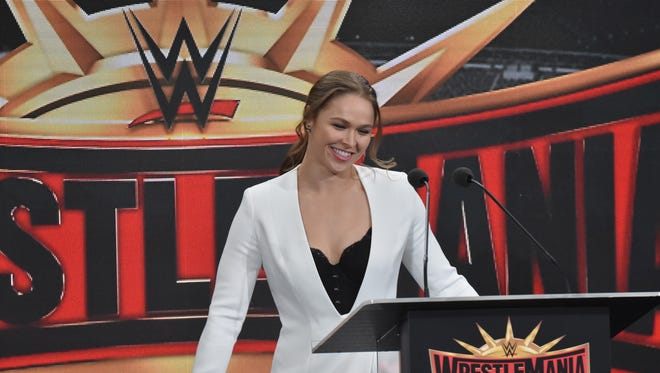 Ronda Rousy appeared as a special guest to announce that Wrestlemania 35 will be held at MetLife Stadium in 2019.