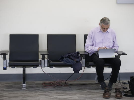 New seating with installed usb ports and electrical outlets are a part of the renovations underway at Tallahassee International Airport, with an initial $10.5 million budget for the first phase. A second phase is tentatively set for an October start date.