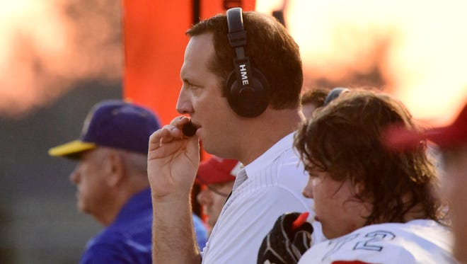 Port Clinton coach Beau Carmon can count on linebacker Max Brenner doing the right thing.