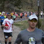 Runners competed in the 2015 Colorado Marathon Sunday, May 3, 2015.