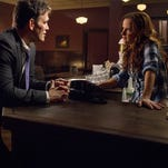 Matt Dillon and Juliette Lewis in 'Wayward Pines'