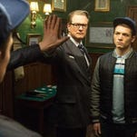 "Colin Firth and Taron Egerton team up in ""Kingsman: The Secret Service,"" new on Blu-ray this week."