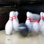 Plenty of prep bowling was going on Monday.