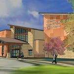 A rendering of the proposed southeast Fort Collins recreation center.