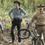 "David Harbour portrays Chief Hopper, who discovers the bicycle of a missing Indiana child in new Netflix series ""Stranger Things.""(Photo: Curtis Baker photo provided by Netflix)"