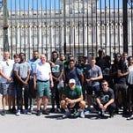 Tulane hoops team safe in Barcelona