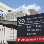 This VA hospital in Phoenix is at the center of a management scandal at the Department of Veterans Affairs involving the doctoring of records to hide chronic delays in providing medical and mental health care to veterans.