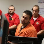 Pete Jason Polson is seen at the Polk County Jail after his arrest in November.