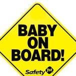 "September marks the 30th anniversary of the now-ubiquitous ""Baby On Board!"" car sign, which drivers attach to the back of their vehicle to warn others there's an infant inside."