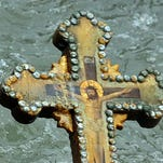 A Greek Orthodox cross.