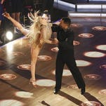 Reigning champs Witney Carson and Alfonso Ribeiro.