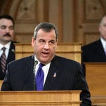 51 percent of registered voters questioned disapprove of the job Christie's doing; 35 percent approve.