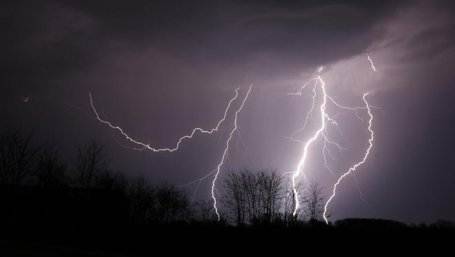 Do you know how to estimate the miles between yourself and a lightning flash? Simply count seconds between lightning and thunder and divide this time by five.