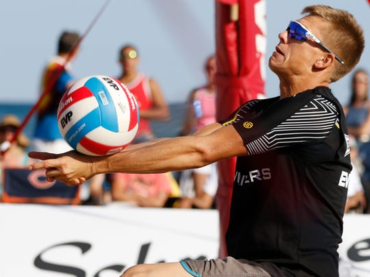 Moments of the EVP Beach Volleyball Tour's Coolest