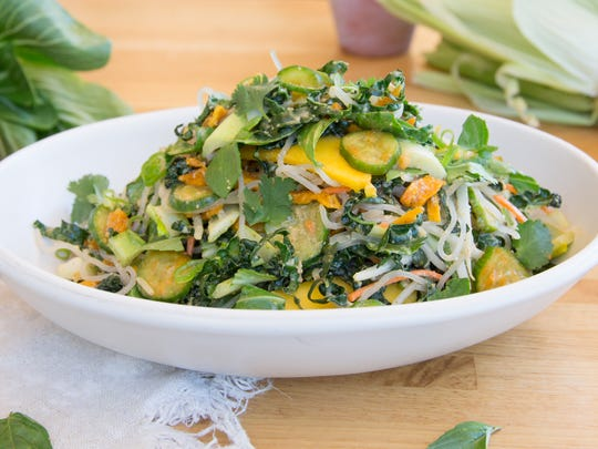 The Korean noodle salad at True Food Kitchen.