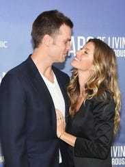 Though Brangelina has fallen, power couple Tom Brady