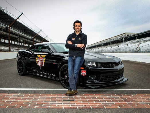 Three-time Indianapolis 500 winner Dario Franchitti will drive a 2014 Chevrolet Camaro Z/28 to pace the 98th running of the Indianapolis 500 on May 25, 2014. It's the eighth time a Camaro has been the pace car and the 25th time a Chevrolet has paced the race.