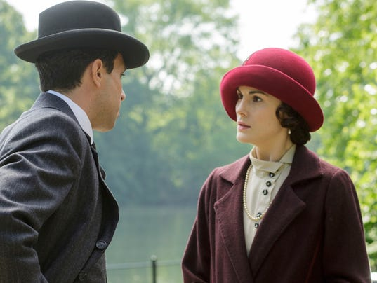 Michelle Dockery rises to the challenge of playing Lady Mary