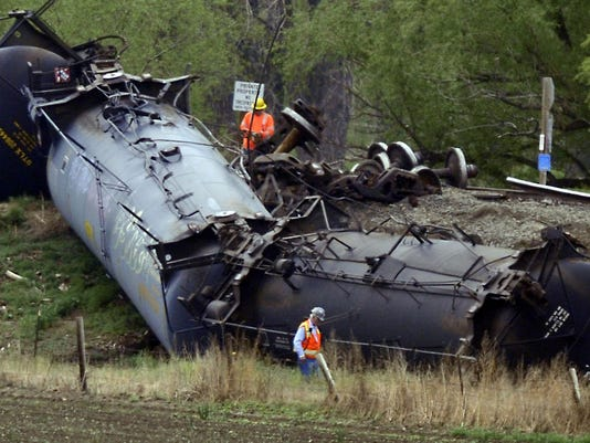 AP OIL TRAIN ACCIDENT A USA CO