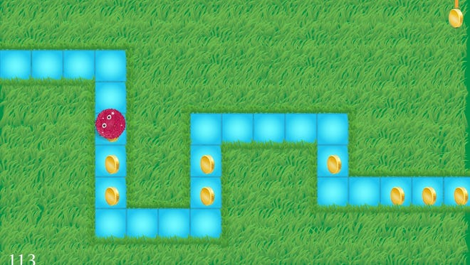 With Kodable, kids program cute ball-like characters to roll through mazes.