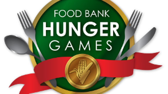 Food Bank Hunger Games at 6:30 p.m. Thursday at the Food Bank of South Jersey in Pennsauken.