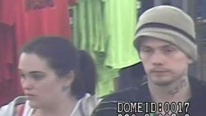 Police are seeking the identities of this couple, suspected of retail theft at the Springettsbury Townshsip Walmart.