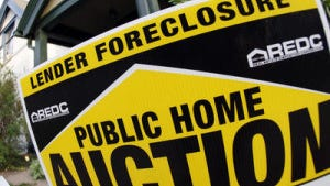 AP file photo of a foreclosure sign.