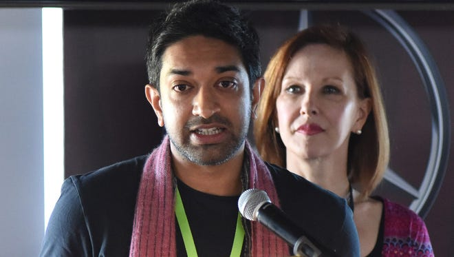 """Prashant Nair, director of the Indian film, """"Umrika,"""" which won the HP Bridging the Borders Award presented by Cinema Without Borders and Hewlett Packard, speaks on his win."""