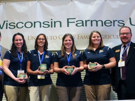 Wisconsin Farmers Union recognized several of the Pheasants