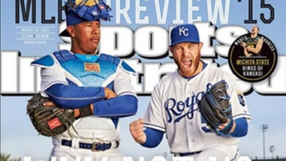 McDowell alum Greg Holland, right,  is on the cover of Sports Illustrated for the second time.
