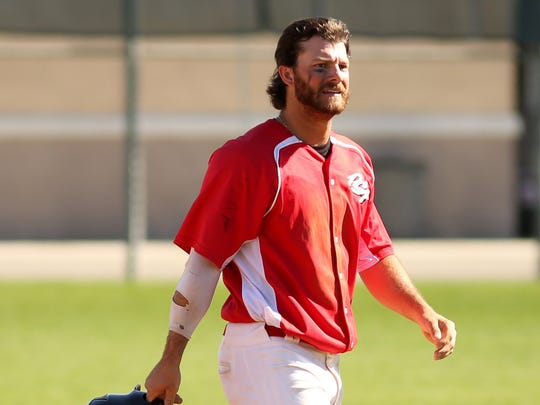 Palm Springs Power outfielder Tommy Barksdale, who