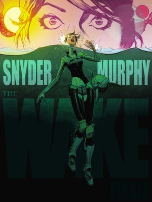 """Scott Snyder and Sean Murphy end their genre-mashup series """"The Wake"""" this week."""
