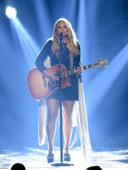 Recording artist Miranda Lambert performs during the