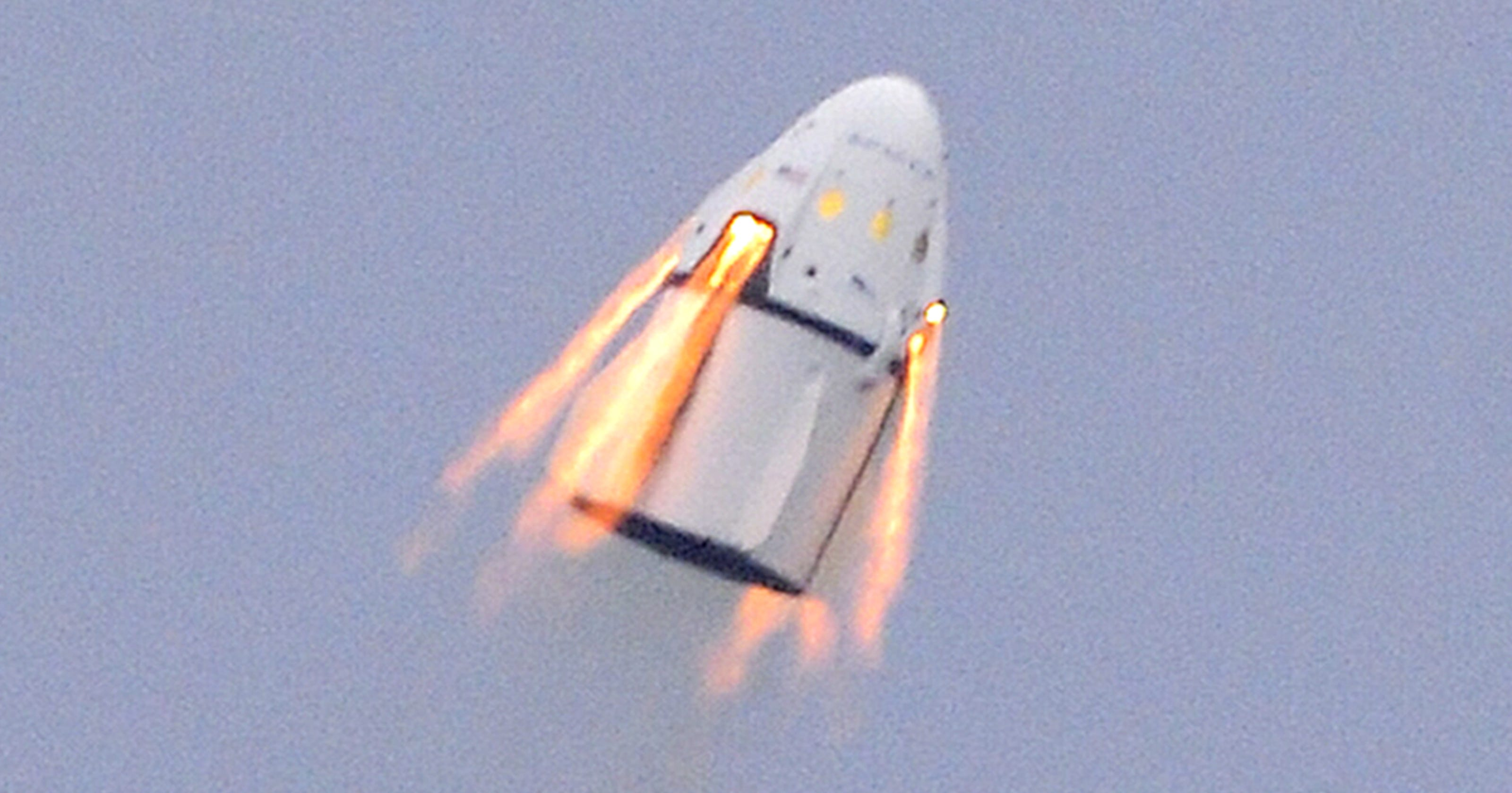 spacex dragon explosion - HD3200×1680