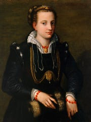 """The Artist's Sister Minerva Anguissola,"" a 16th-century painting by Sofonisba Anguissola. Part of the Layton Art Collection at the Milwaukee Art Museum."