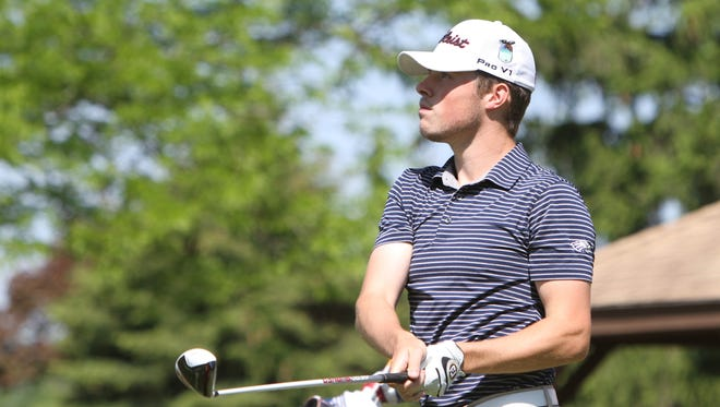 Hartland's Mitchell Cotten had the best scoring average among Livingston County golfers this spring.