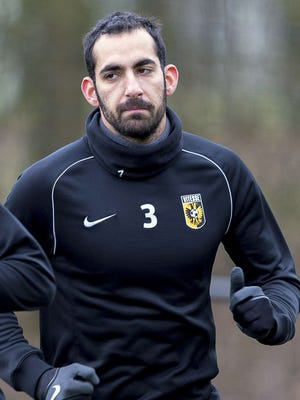 Vitesse's Israeli defender Dan Mori has been refused permission to attend a training camp in the United Arab Emirates.