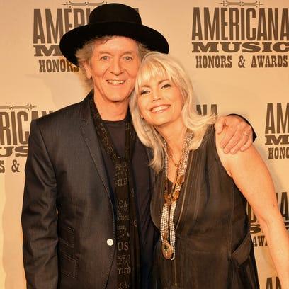 Rodney Crowell and Emmylou Harris