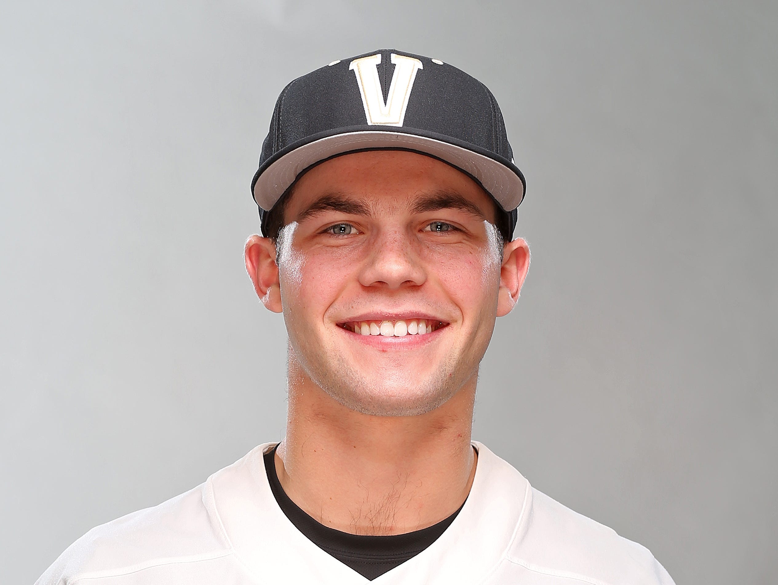 Ty Duvall of Vanderbilt baseball in 2017.