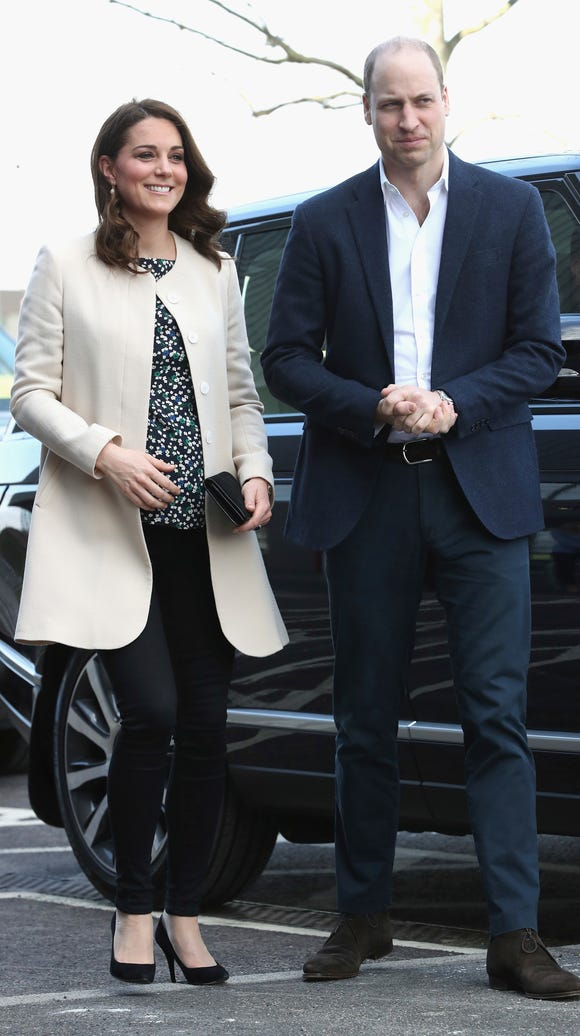 Prince William and Duchess Kate at Thursday's event.