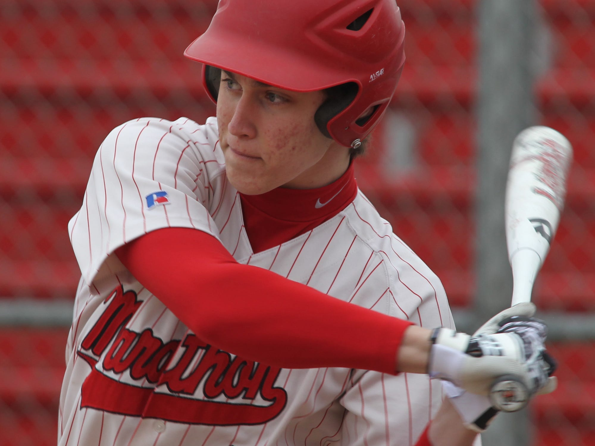 Marathon's Ryan Gassner is the reigning player of the year in the Marawood Conference South Division.