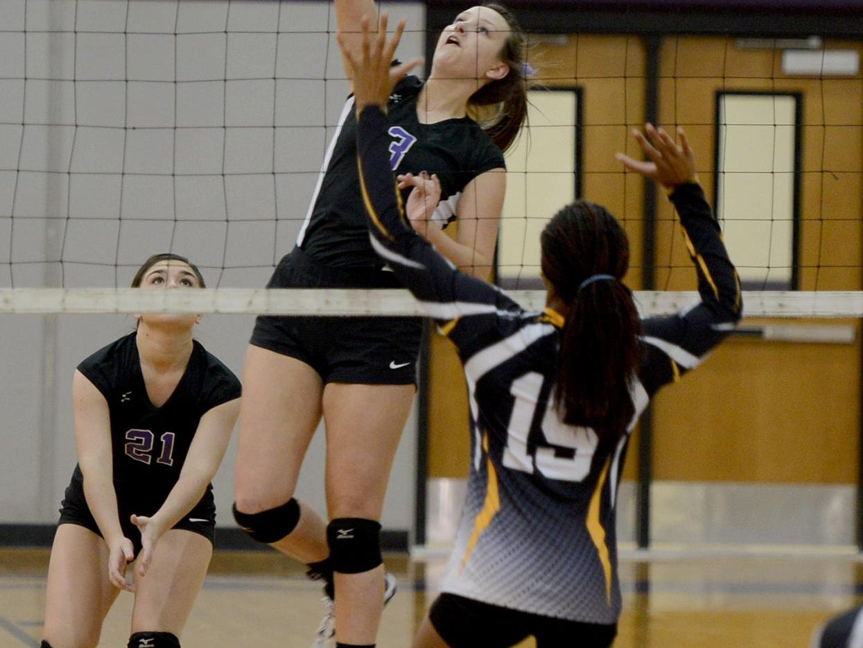 Trinity Christian Academy's Clare Taylor led the Lady Lions to the Class A state championship match.