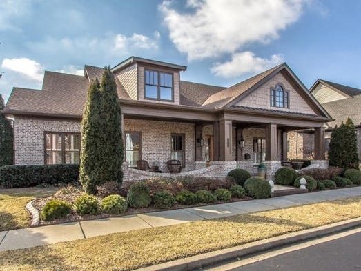 This home, on Cooper Creek Lane in the Gates of Carlisle Place, is on the market, with a list price of $734,000. The 4,825-square-foot home has four bedrooms, four full baths and one half-bath. The neighborhood is just west of downtown Franklin off New Highway 96 West.