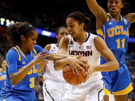 NCAA Womens Basketball: UCLA at Connecticut