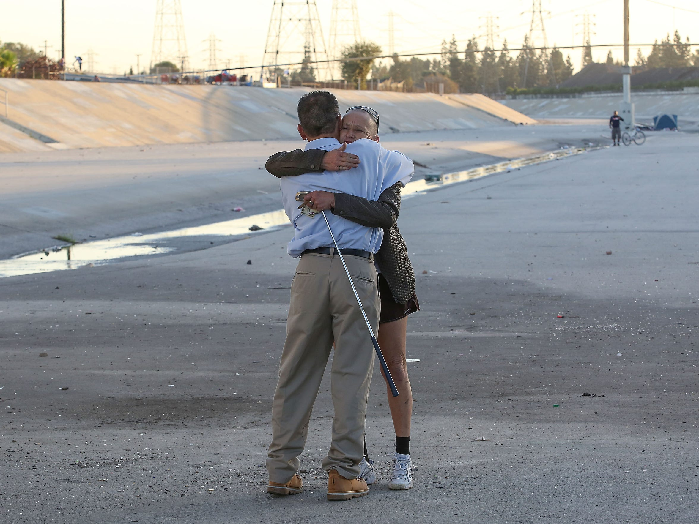 Ruben Lopez Jr., a meth addict who was released from