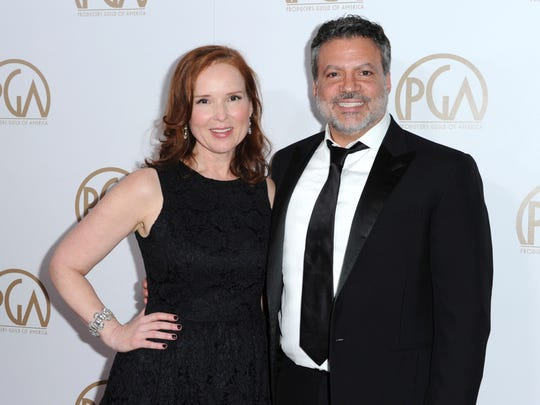 Oscars 2018 producers Jennifer Todd, left, and Michael