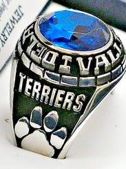 Deaware Valley Regional High School new class rings.