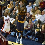 Iman Shumpert and the Cavaliers' bench came up big in the team's 114-88 win over Miami Thursday.